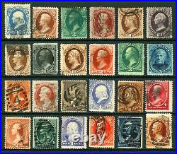 #145-#217 1870-1887 Assorted Large Banknote Lot Mostly Used