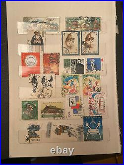 CHINA, Excellent assortment of Stamps Off-Paper/On-paper, Mints And Used