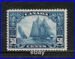 Canada #158iii Very Fine Mint Man On The Mast Variety With Certificate