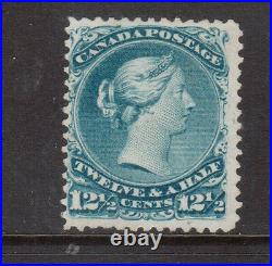 Canada #28iv Mint Balloon Flaw Variety With Certificate