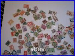 China PRC Stamp Assortment Approx 600 Mint and Used Stamps 1930'-60's or so