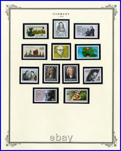 Germany Mint Stamp Variety Collection