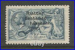Ireland 1922 Thom Seahorse 10s SG46 sc 38 with R over Se variety Mint CV$3025.00+