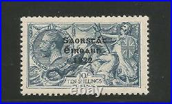 Ireland S over E variety 10s Seahorse Scott 58 Hib T61jd perfect S plate Mint