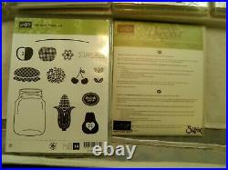 Lot of 9 10 Assorted Stampin' Up Rubber Stamps Rare