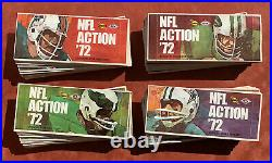 Lot of 99 Assorted 1972 Sunoco NFL Football Action Player Stamps Panel Booklets