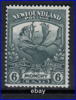 Newfoundland #120 Mint Double Print Variety Hinged With Certificate