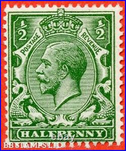 SG. 356 variety N14 (16) ½d Deep Myrtle Green. A fine mounted mint examp B40134