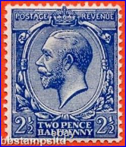 SG. 371 a Variety N21 (5). 2½d deep bright blue. A super UNMOUNTED MINT example