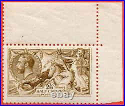 SG. 406 variety N64 (7). 2/6 Pale Yellow Brown. A very fine UNMOUNTED MINT