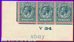 SG. 428 variety N44 (3). 10d Dull Greenish Blue. A totally UNMOUNTED MINT B46785