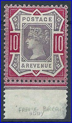 Sg 210fa variety 10d Purple & Carmine damage to frame UNMOUNTED MINT