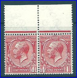 Sg 357h 1d Q for O variety from Control E 14 R. 1/4 UNMOUNTED MINT/MNH