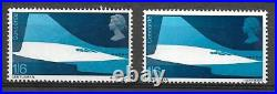 Sg 786a 1969 Concorde 1/6 Silver Omitted Rare Variety UNMOUNTED MINT/MNH