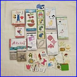 Stampin Up Cuttlebug Darice Sizzix Huge Assorted Lot & More New and Pre-Owed