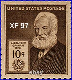 US #875//893 Famous Americans Assorted Block of 4 MNH VF-XF