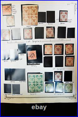Worldwide Stamp Lot Reprints & Variety Study 600+ Rare Items